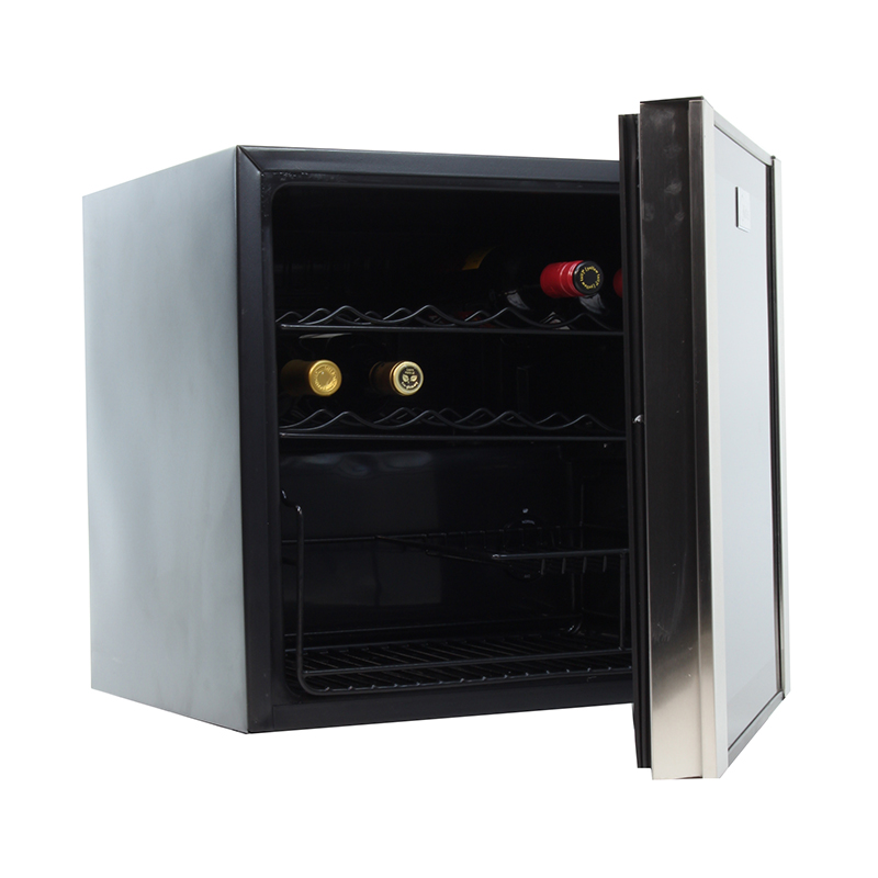 WR 64-16 - Wine Refrigerator Black with SS trim 16 bottles