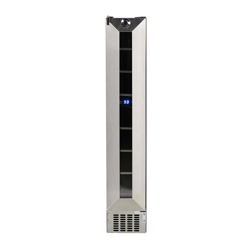 Equator WR 007 - Slim Wine Refrigerator - 7 bottles - SS
