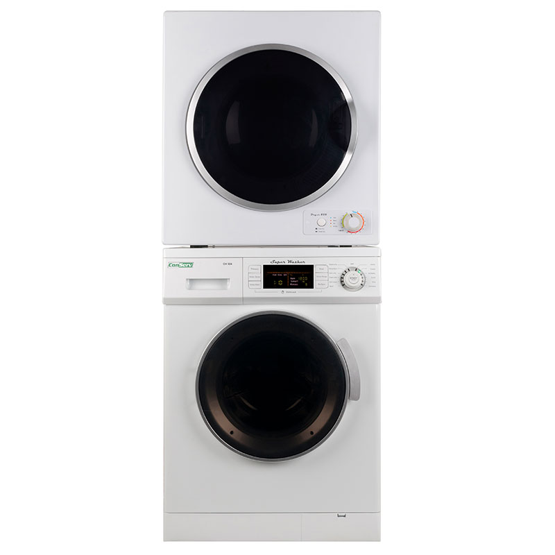 Stackable Washer Dryer Set CW 824 & CD 850 V