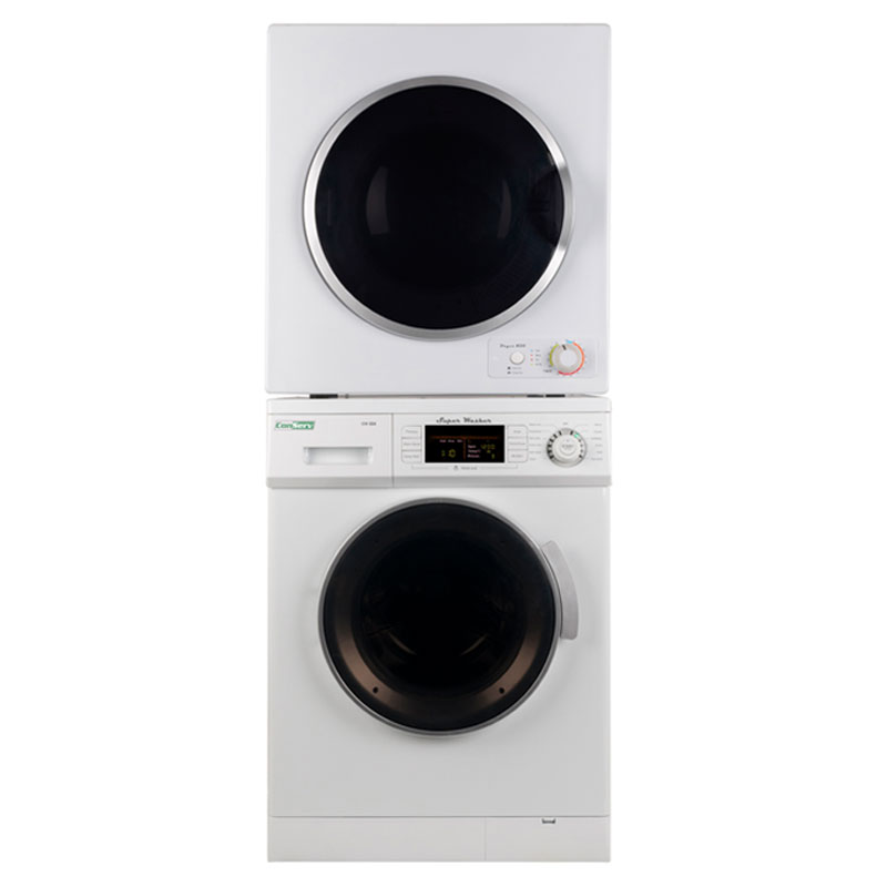 Conserve Stackable Washer Dryer Set CW 824 + CD 860 V