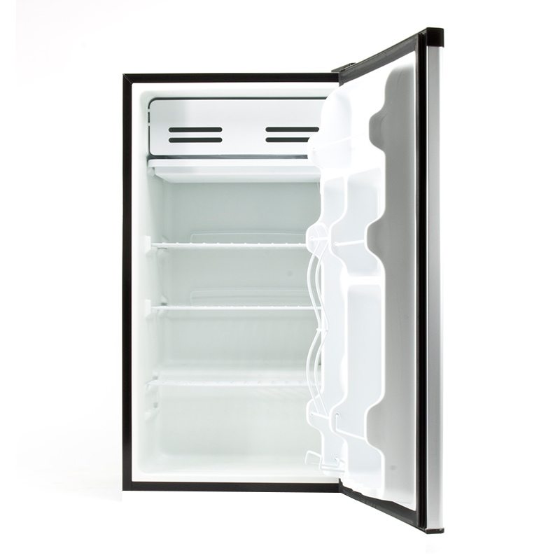 Equator REF 121L - 33 SS - Defrost Refrigerator Stainless - Capacity: 3.3 cu.ft