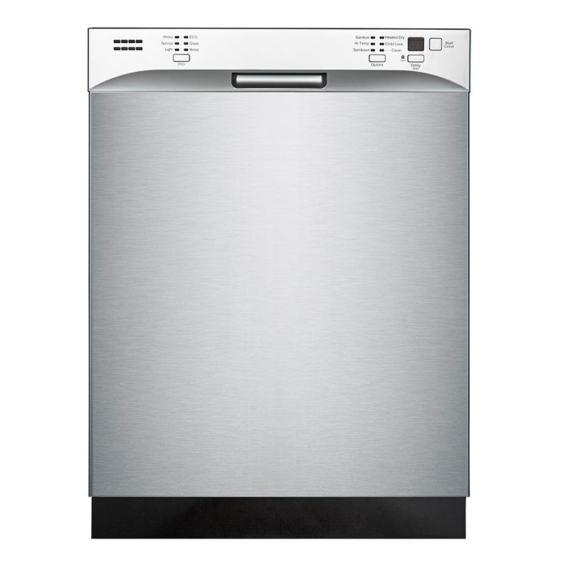 Equator-Midea ST 82-6501 - Dishwasher - 24inch Tall Tub - 14 Place Setting in Stainless