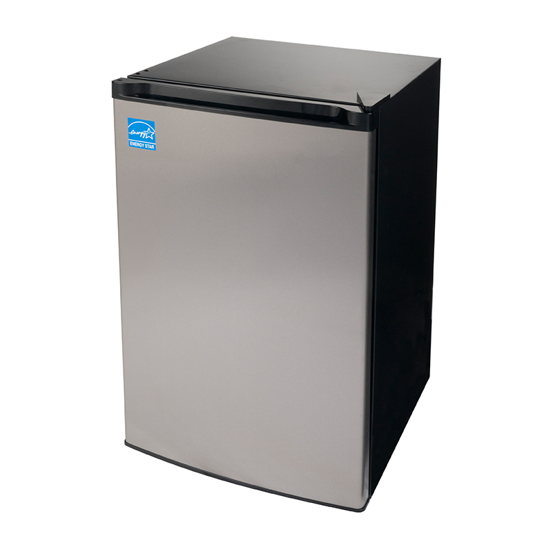 FR 109-30 SS - Defrost Upright Freezer Stainless - Capacity 3 cu.ft