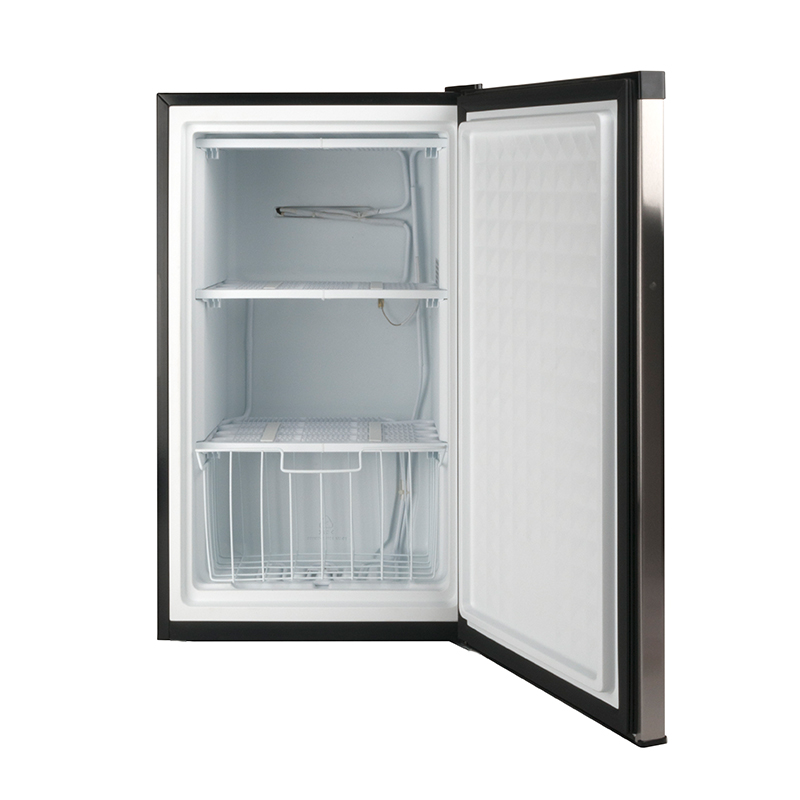 FR 109 - 30 SS - Defrost Upright Freezer Stainless - Capacity: 3 cu.ft