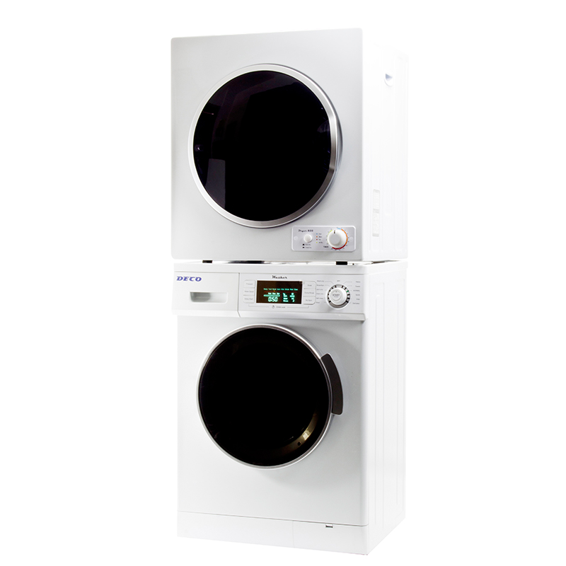 Deco Stackable Washer Dryer Set DW 820 & DD 850 V