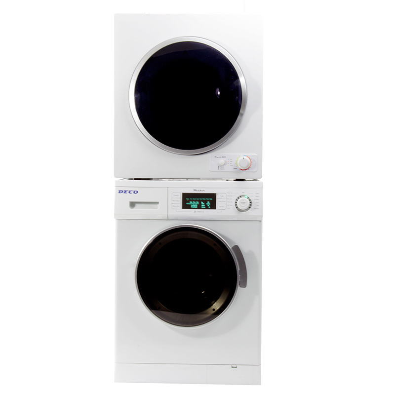 Deco Stackable Washer Dryer Set