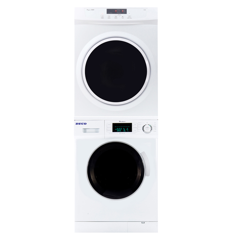 Deco Stackable Washer Dryer Set 820+ 860V