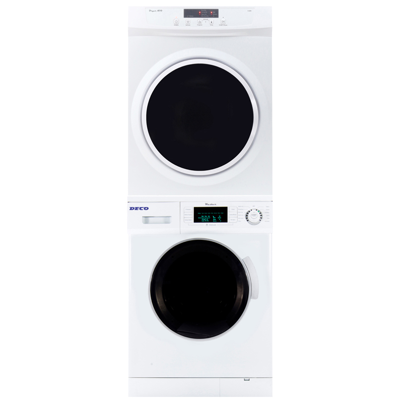 Deco Stackable Washer Dryer Set  820 + 870V