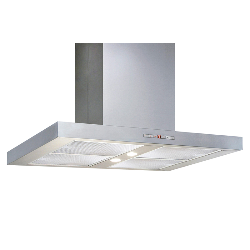 Deco BX 36   Box design <br> Wall hood Stainless Steel