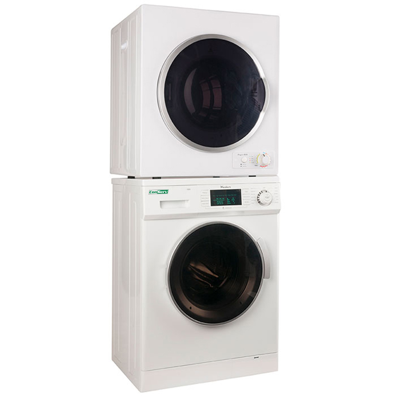 Conserv Stackable Washer Dryer Set CW 820 & CD 850 V