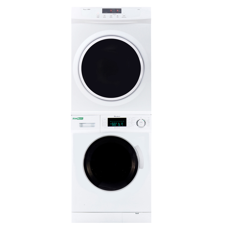 Conserv Stackable Washer Dryer Set EW 820ED 860 V