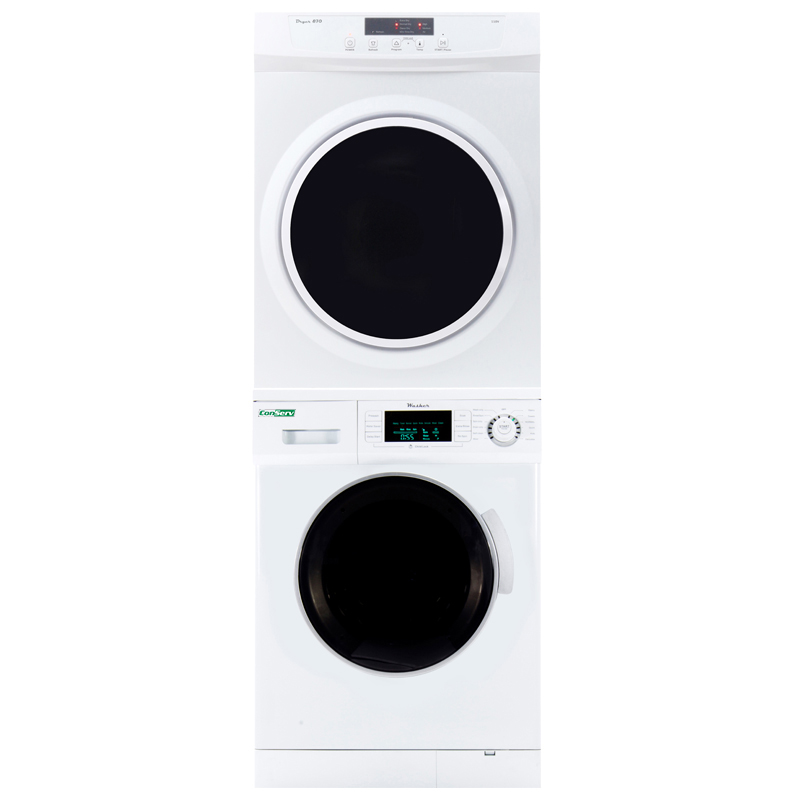 Conserv Stackable Washer Dryer Set  820 + 870V