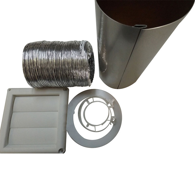 White Outside Vent Kit 18 - 1059