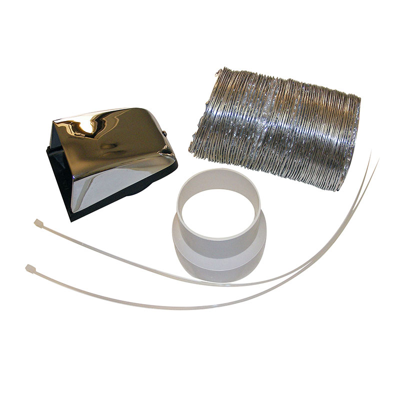 Chrome Outside Vent Kit <br>(CVK 1063)
