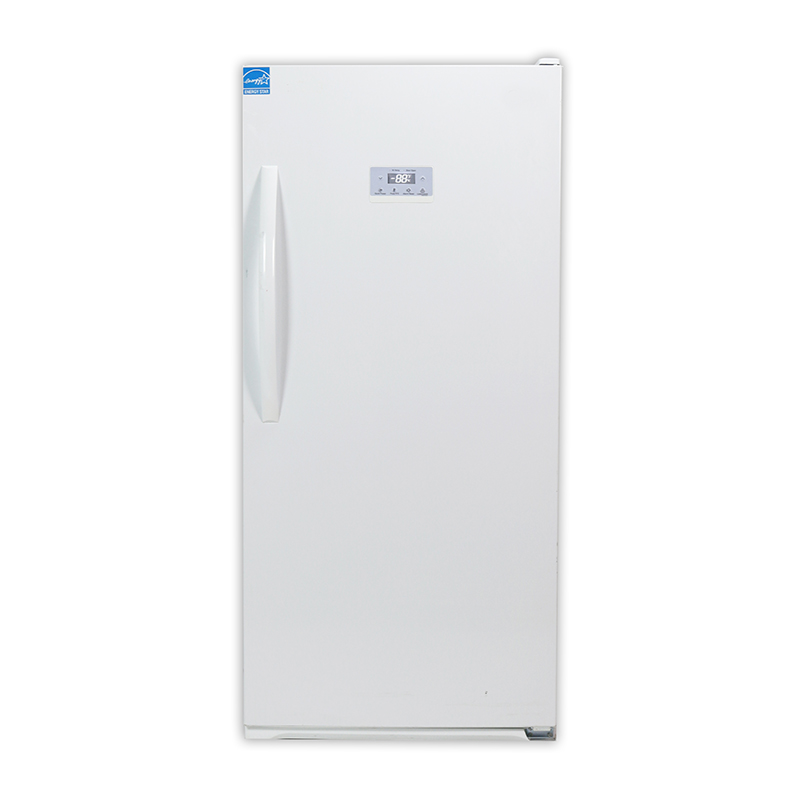 Equator FR 502 - 650 W - Upright Freezer White - Capacity: 13.7 cu.ft