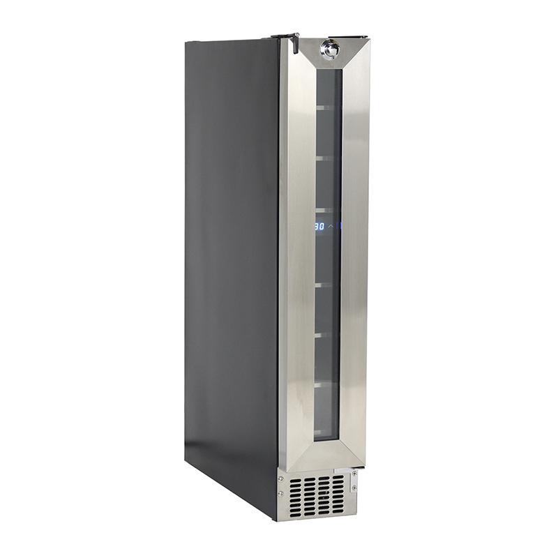 Equator-Midea 7 Bottles Slim Wine Refrigerator WR 007 in SS