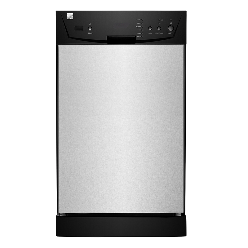 Equator-Midea SB 818-9339 - Dishwasher - 18inch Built-in 8 Place Setting in Stainless