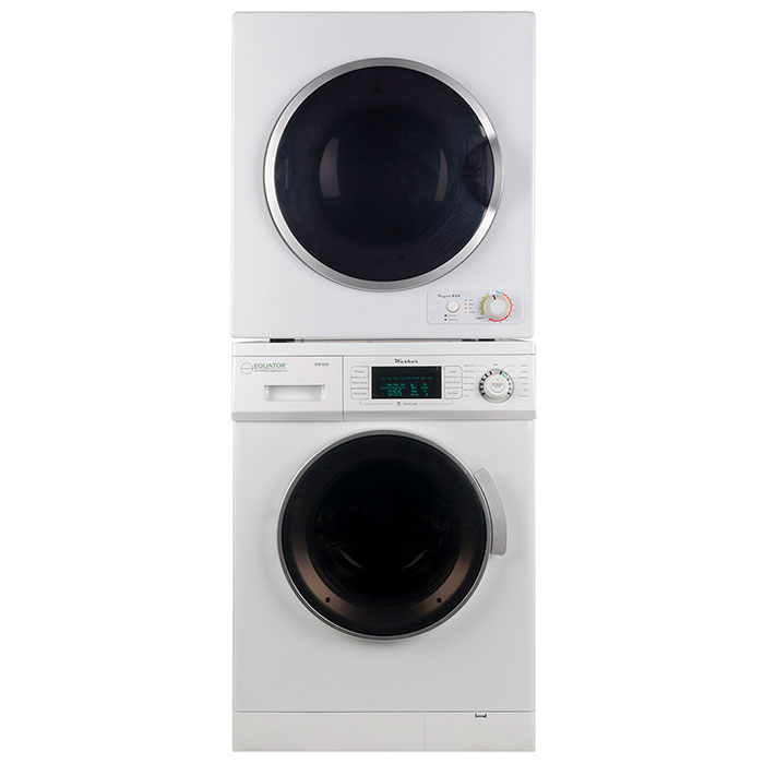 Equator Stackable Washer Dryer Set EW 820 + ED 850 V