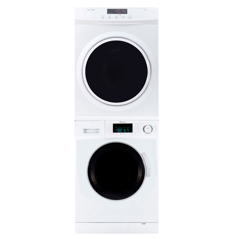 Pinnacle Stackable Washer Dryer Set 18-824+18-860 V