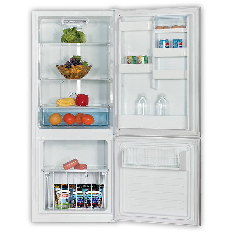 RF 368-100W - Bottom Mounted Refrigerator White - Capacity 10 cu.ft