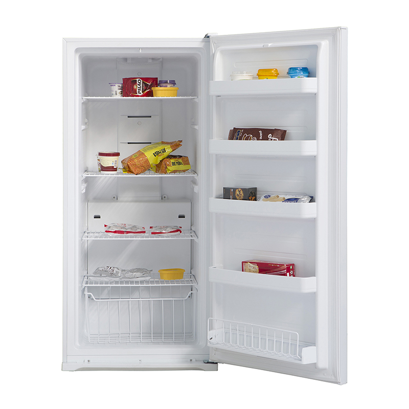 Equator FR 502 -650 SS - Upright Freezer Stainless - Capacity: 13.7 cu.ft