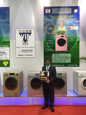 Equator Advanced Appliances and its 2016 TWICE VIP Award!