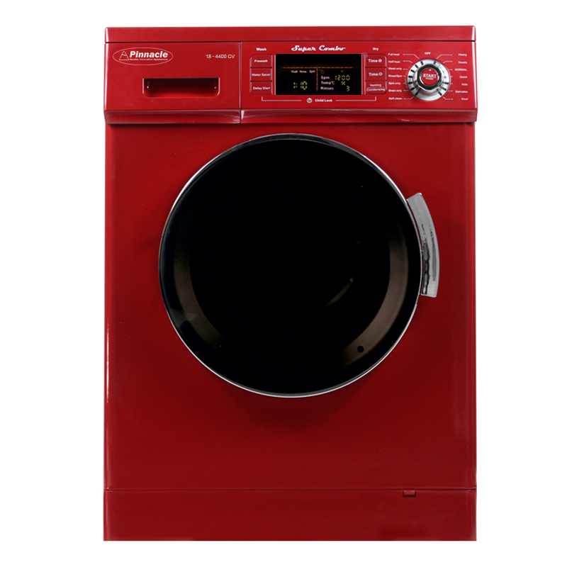 Super Combo Washer-Dryer <br> 13 lbs Merlot