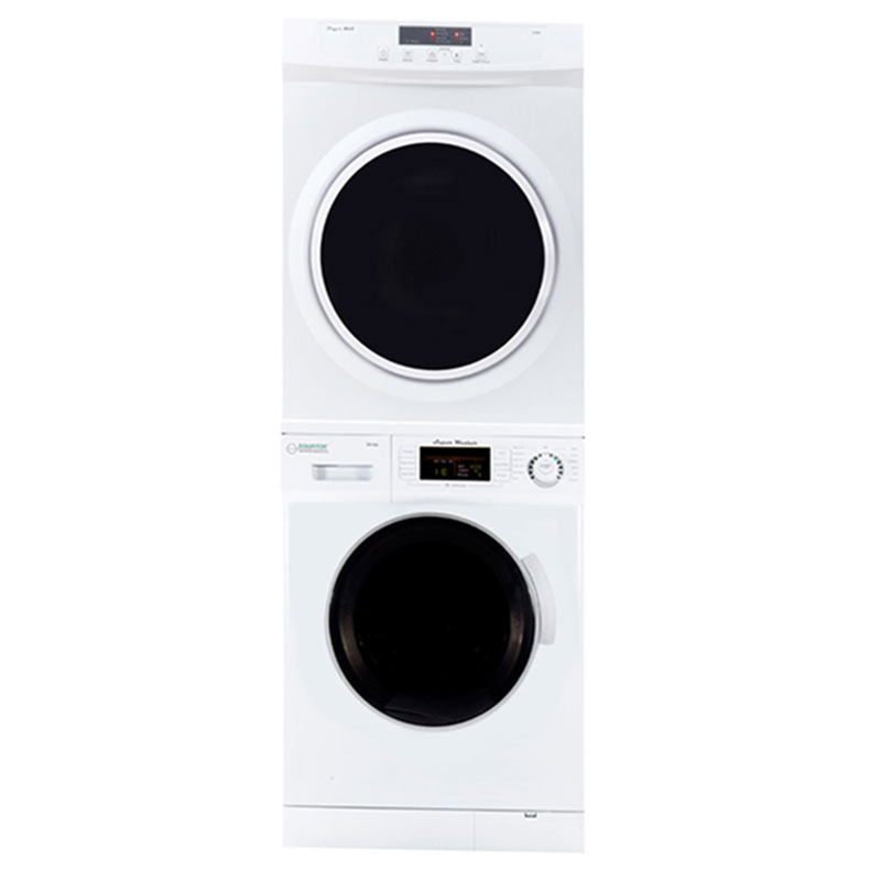 Equator Stackable Washer Dryer Set EW 824 + ED 860 V
