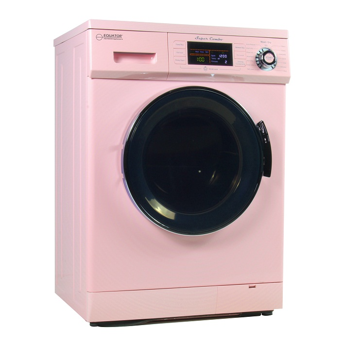 Equator Super Combo Washer Dryer EZ 4400 N Pink