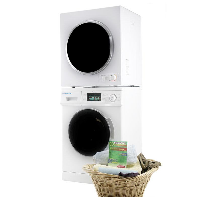 Stackable Washer Dryer Set TW 824 & TD 850 V