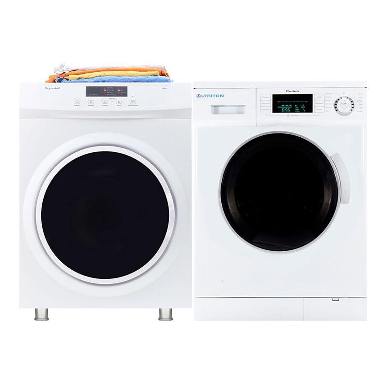 Triton Stackable Washer Dryer Set TW 824 + TD 860 V