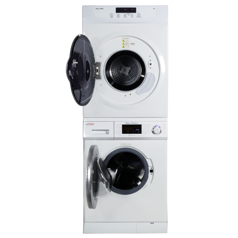 Pinnacle Stackable Washer Dryer Set 18-824-18-860 V