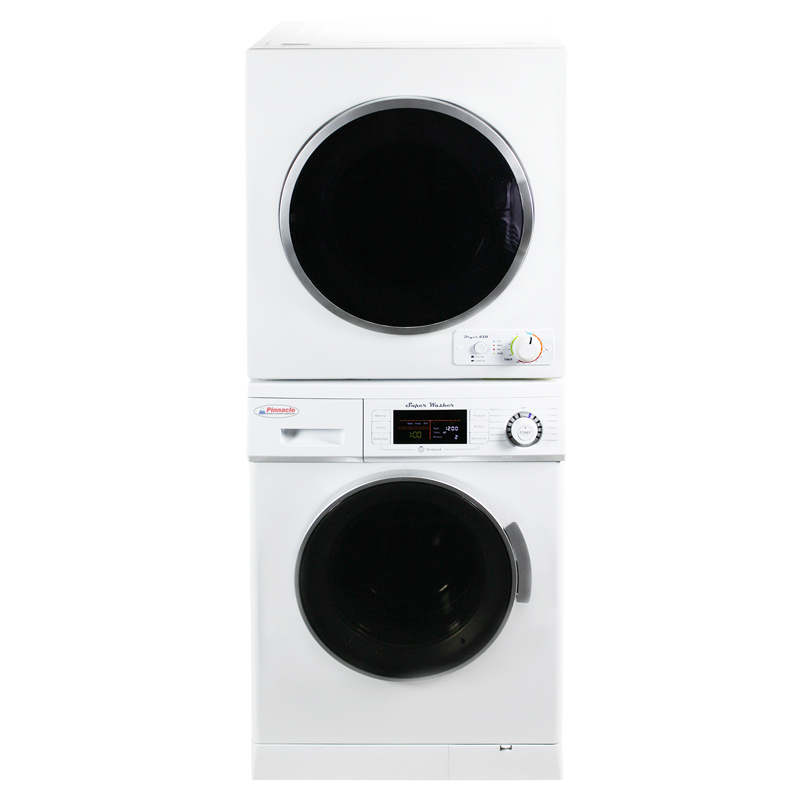 Pinnacle Stackable Washer Dryer Set 18-824 & 18-850 V
