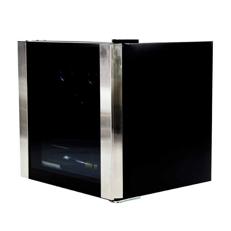 Equator-Midea WR 64-16 - Wine Refrigerator Black with SS trim 16 bottles