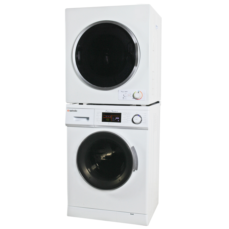 Sekido Stackable Washer Dryer Set