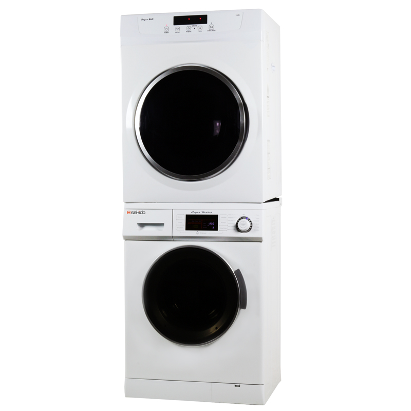 Sekido Stackable Washer Dryer Set 824 860V