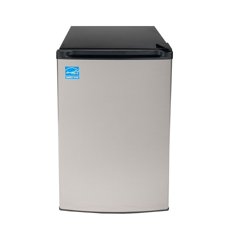 Equator-Midea 3 cu.ft <br> Defrost Upright Freezer Stainless