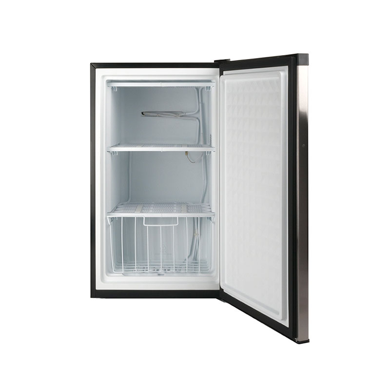 Deco FR 109-30 SS - Defrost Upright Freezer Stainless - Capacity 3 cu.ft