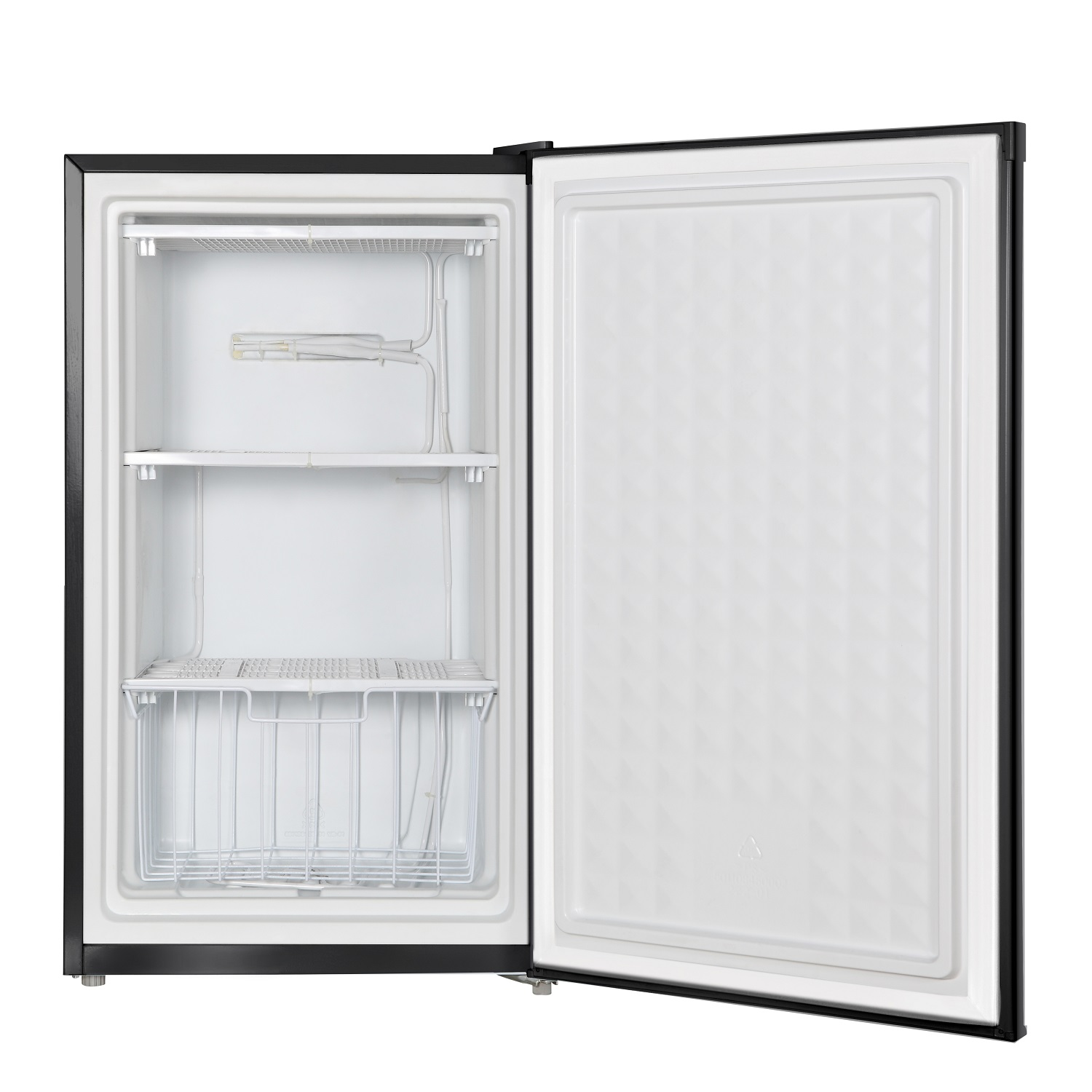FR 109-30 B - Defrost Upright Freezer Black - Capacity 3 cu.ft