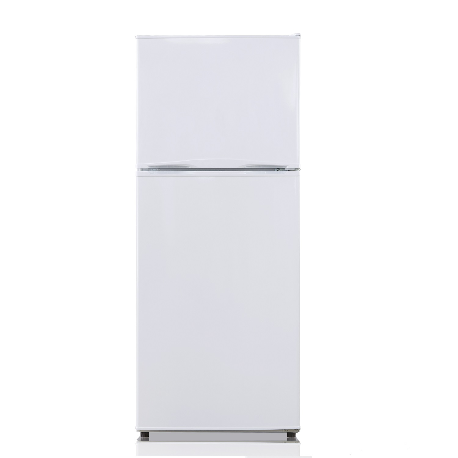 Equator-Midea 9.9 Cu. Ft. <br> Frost Free Top Freezer Refrigerator in Stainless Steel