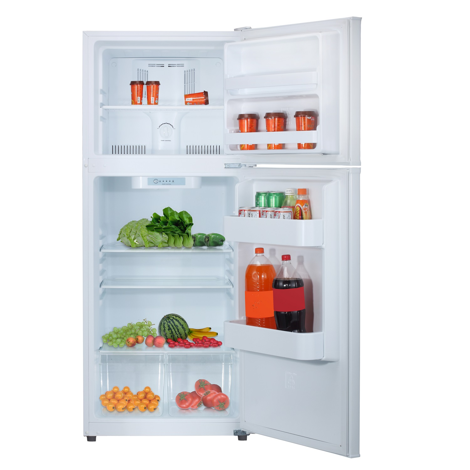 RF 366-99 SS 9.9 Cu. Ft. Frost Free Top Freezer Refrigerator in Stainless Steel