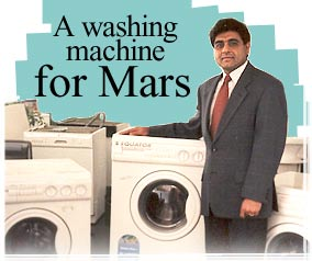 A washing machine for Mars