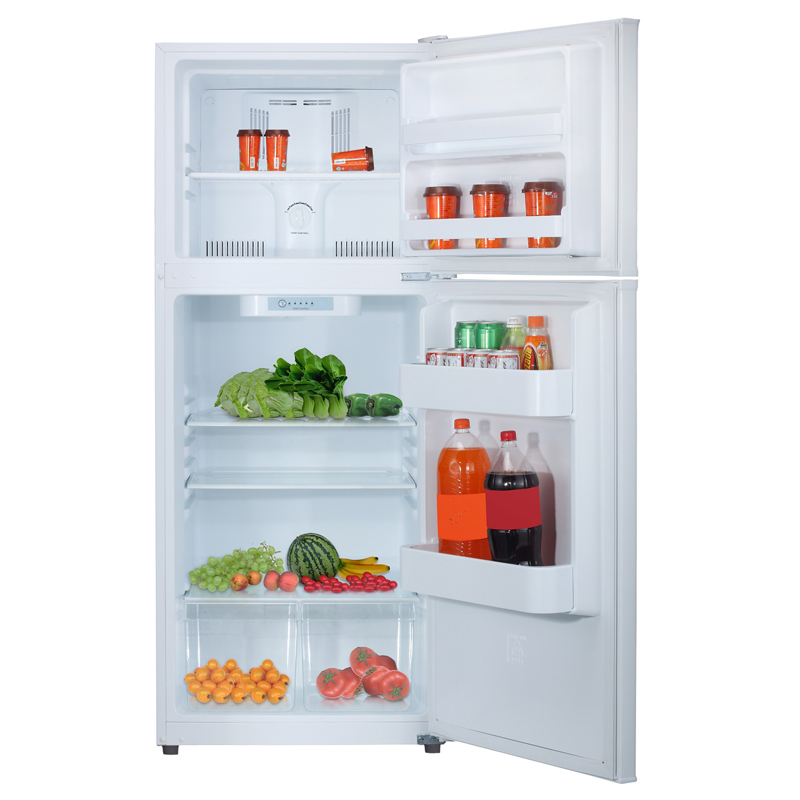 Equator-Midea 9.9 Cu. Ft. <br> Frost Free Top Freezer Refrigerator in White