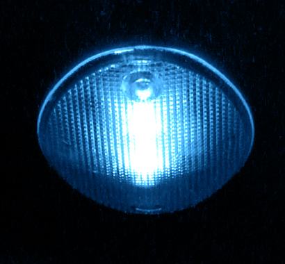 Colored LED Light Bulb (Blue)