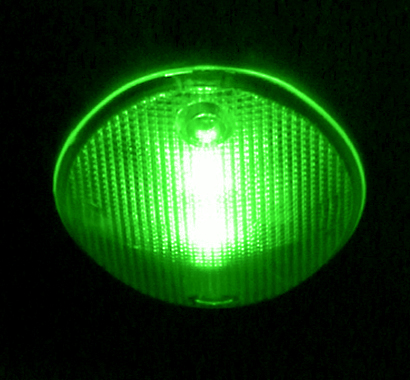 Colored LED Light Bulb (Green)