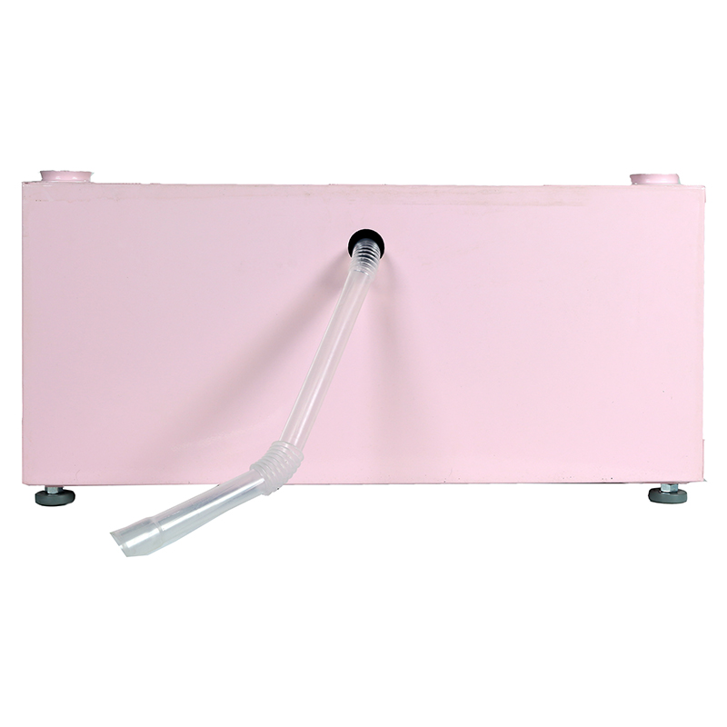 Equator - 11.5 High Pedestal <br> with Storage drawer (Pink)