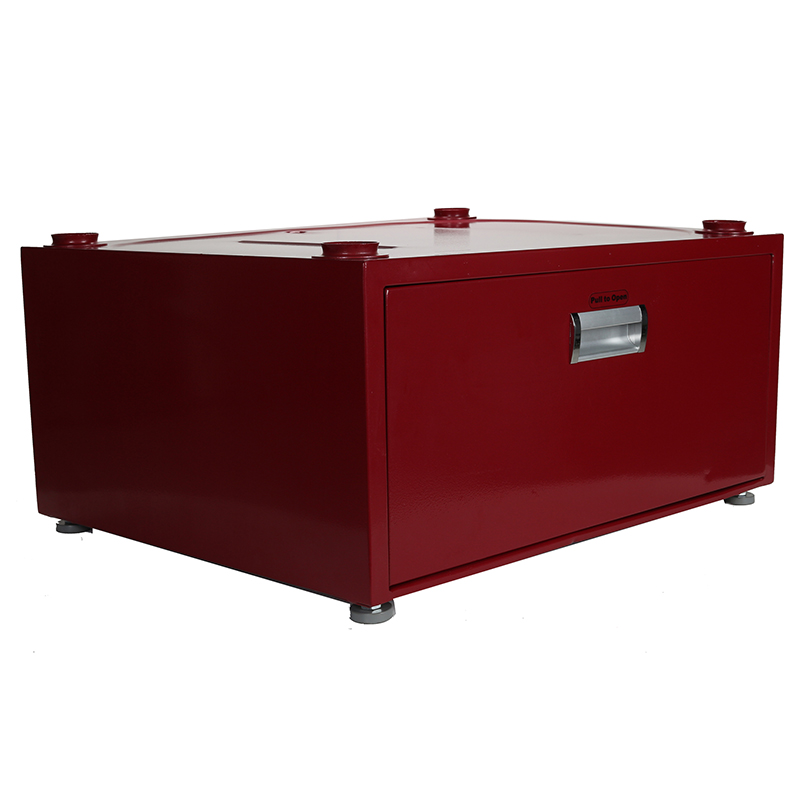 High Pedestal 18-2833 <br> with Storage drawer (Merlot)