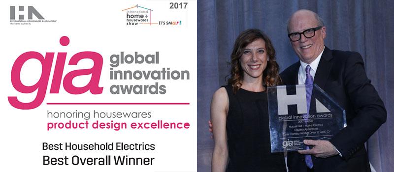 International Houseware Association (IHA)'s Global Innovation Award (GIA)