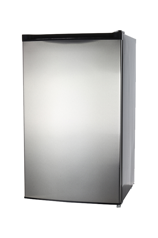 Equator REF 160R - 44 SS - Defrost Refrigerator Stainless - Capacity: 4.4 cu.ft