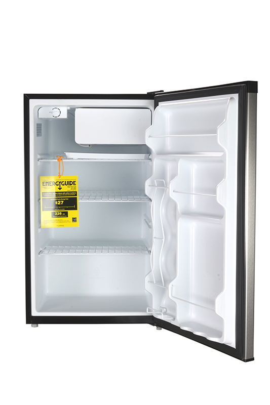 Deco REF 160 R-44SS - Defrost Refrigerator Stainless - Capacity 4.4 cu.ft